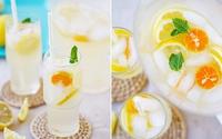 Cách làm nước dừa chanh quất thơm mát đã khát