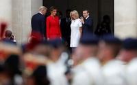 Ông Trump khen vợ ông Macron có