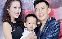 Con trai Phi Thanh Vân quấn quýt bên bố nuôi Đoan Trường
