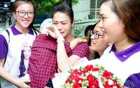Nhật Kim Anh bế con trai, nghẹn ngào trong ngày sinh nhật