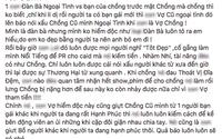 SỐC: Lộ bằng chứng tố Lý Phương Châu ngoại tình với bạn của Lâm Vinh Hải trước khi ly hôn