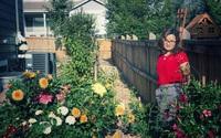 Vườn hoa thược dược sặc sỡ với 9 màu khó kiếm của mẹ Việt ở Mỹ