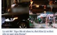 Lộ ảnh Hồ Ngọc Hà - Kim Lý vui vẻ đi ăn, xóa tin đồn rạn nứt vì cãi nhau