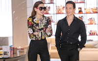 Kim Lý đưa Hồ Ngọc Hà đi sự kiện ở Hà Nội
