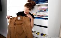 Cô nàng này đã thử mặc quần áo của chồng để đi làm trong 10 ngày, và ngạc nhiên là chẳng một ai nhận ra