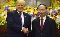 Lễ đón Tổng thống Donald Trump tại Phủ Chủ tịch