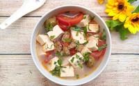 Canh đậu phụ nấu chua dễ nấu lại ngon