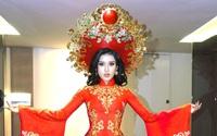 Ngắm trang phục truyền thống nặng hơn 30kg mà Huyền My sẽ mặc tại