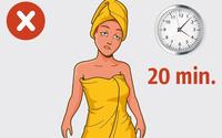 5 sai lầm khi tắm mà bạn có thể đang làm mỗi ngày