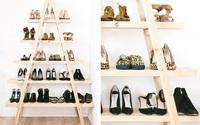 10 ý tưởng lưu trữ giày hữu ích dành riêng cho hội mê giày