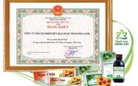 Dược Hoa Linh nhận Bằng khen vì thành tích trong phát triển y dược cổ truyền