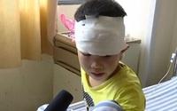 """Xót xa tai nạn giao thông bé trai 6 tuổi kêu khóc: """"Xin hãy cứu bố cháu trước"""