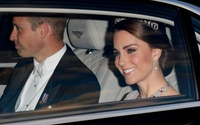 Kate đeo vương miện của Diana dự tiệc với hoàng gia Tây Ban Nha
