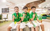 5 cầu thủ nhí Việt Nam trở về sau chuyến tập huấn tại Barcelona