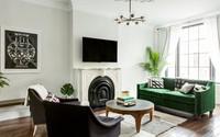 Cách bố trí TV tối ưu nhất trong phòng khách