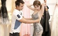 Đi thử váy thôi mà Ngọc Trinh cũng quyến rũ như thế này rồi!