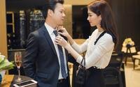 Thu Thảo - Trung Tín: một chuyện tình nhẹ nhàng từ cử chỉ đến phong cách thời trang đồng điệu khi sánh bước cùng nhau