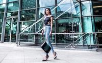 Quần jean và giày cao gót - bộ đôi giúp mọi nàng công sở trông bắt mắt tới bất ngờ
