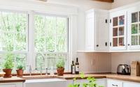 Mê mẩn 15 cửa sổ kính vừa đẹp vừa nên thơ của những căn bếp này