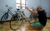 Thú chơi xe đạp Peugeot cổ 45 triệu đồng/chiếc ở Hà thành