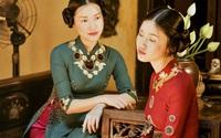 Nhà thiết kế Việt lên báo Mỹ giới thiệu bộ sưu tập áo dài dát vàng đậm tính nghệ thuật