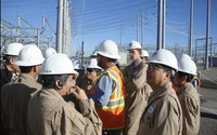 EVNNPTtham quan, học tập hiện đại hóa lưới truyền tải điện tại Mỹ