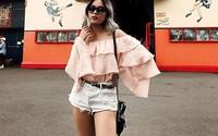 Thời tiết nắng nóng, các quý cô châu Á thi nhau mặc đồ