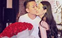 Tuấn Hưng tặng vợ 99 đóa hồng trong ngày sinh nhật