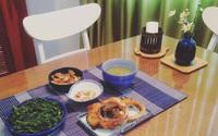 Những bữa cơm chiều chỉ mất 30 phút vào bếp của cô vợ 8x đảm đang