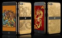 Những mẫu iPhone 7 mạ vàng 'hot' nhất thế giới