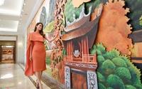 Hoa hậu Phạm Hương quay clip quảng bá du lịch Đà Nẵng chiếu dịp APEC
