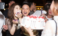 Hương Tràm đón sinh nhật tuổi 22 bên Cao Thái Sơn