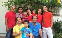 Loạt ảnh hiếm hoi về cuộc sống giản dị mà hạnh phúc bố mẹ ruột Hà Tăng