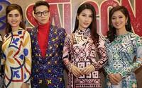 Tăng Thanh Hà và các nghệ sĩ dự ra mắt phim 'Cô Ba Sài Gòn'