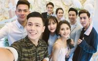 Sao Việt dự lễ cưới của ca sĩ Huy Nam nhóm La Thăng