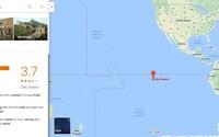 Google tạo vị trí của Skull Island trên Maps