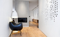 Căn hộ 134 m2 với phòng ngủ thiết kế tinh nghịch