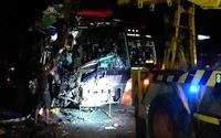 Tai nạn liên hoàn giữa 3 xe khách trên quốc lộ 1, 3 người tử vong