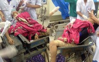 Nam thanh niên bị nghiền nát chân và mắc kẹt trong máy gạch