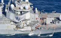 Khu trục hạm Mỹ va chạm với tàu hàng Philippines, 7 người mất tích
