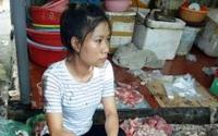 Sự dã man của con người nhìn từ quầy thịt lợn bị té dầu luyn trộn chất thải