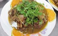 Vịt nấu cam - Món ăn lạ miệng