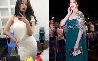 Mỹ nhân Việt gây sốc với hình ảnh béo ú vì tăng cân mất kiểm soát