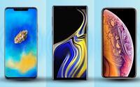 Bộ ba smartphone mạnh nhất thị trường đọ sức