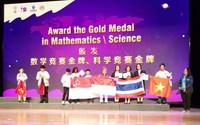 Việt Nam giành 8 Huy chương Vàng kỳ thi Olympic Toán và Khoa học Quốc tế 2018