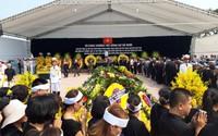 """Nguyên Tổng Bí thư Đỗ Mười đã được an táng tại quê nhà: """"Xin vĩnh biệt đồng chí!"""""""