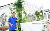 Cận cảnh căn biệt thự nhà vườn trắng toát, đẹp mê ly mới tu sửa của MC Quyền Linh