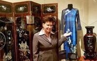 Áo dài của NTK Minh Hạnh được đưa vào Bảo tàng Phương Đông Nga