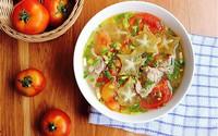 Cách nấu canh cà chua thịt bò đơn giản, ngon miệng