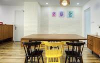 Căn hộ ở Hà Nội được thiết kế theo phong cách Scandinavian rất đơn giản và tiết kiệm nhưng đẹp bất ngờ